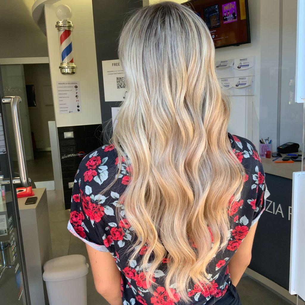 balayage per capelli lunghi