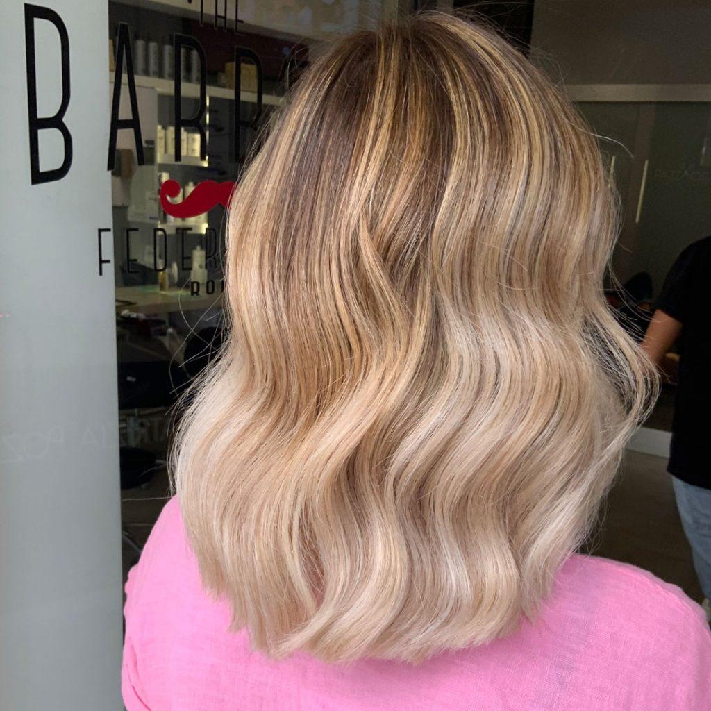 balayage capelli medi.