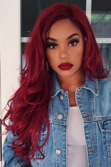 colore capelli rossi.