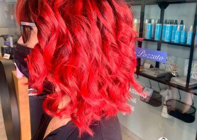colore capelli rosso schocking.