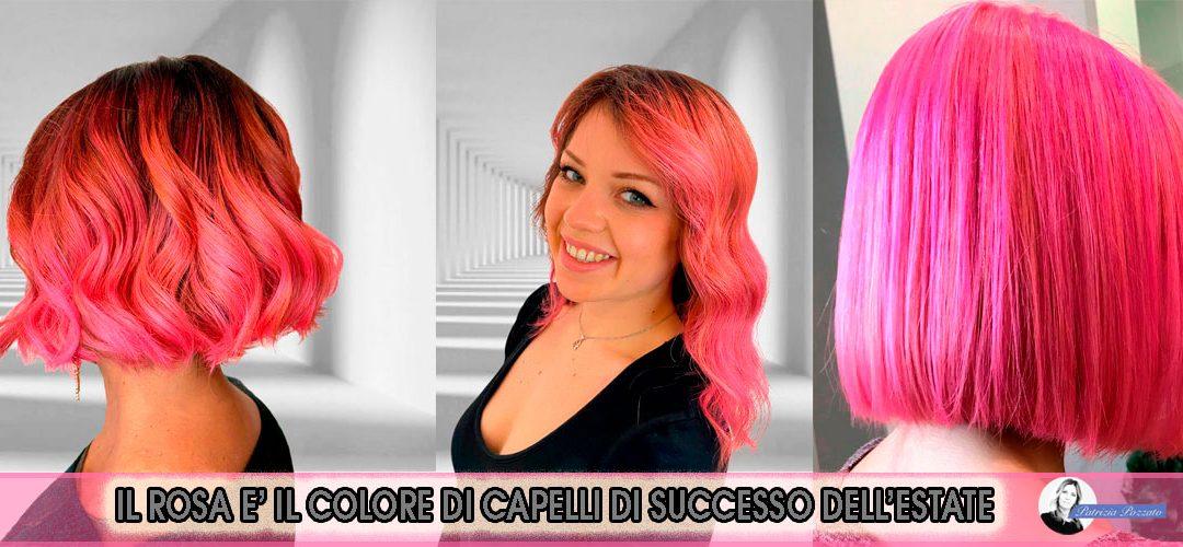 Colore Capelli Rosa: Vivaci e Divertenti Per Un'Estate Di Successo