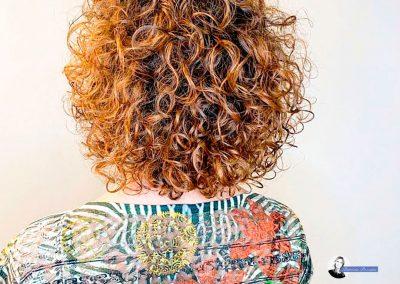 curlyage roma balayage per capelli ricci.