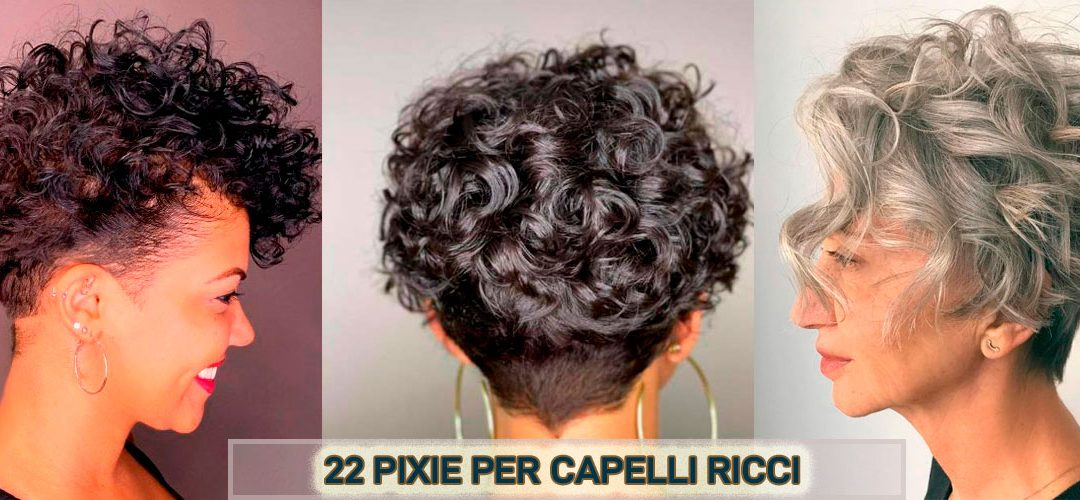 22 Ispirazioni Di Tagli Pixie Per Capelli Ricci