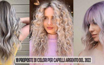 10 Stili Di Colore Di Capelli Argento Per Il 2022