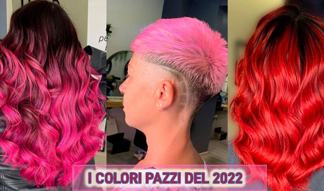 Nuovi colori per capelli 2022.