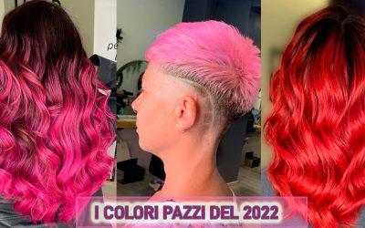 Crazy Colors 2022: I Colori Per Capelli Degli Specialisti Del Colore Per Il Prossimo Inverno